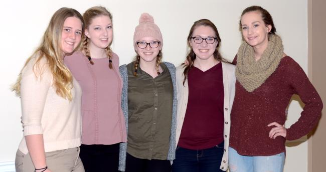 Five Waynesburg women to travel abroad with Vira I. Heinz scholarship