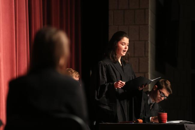 Stover Scholars to present play for Constitution Day